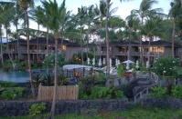 Palm Grove bungalows and adult pool