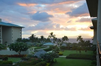 View from Partial Ocean View Room