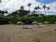 Wailea Beach facing the Four Seasons