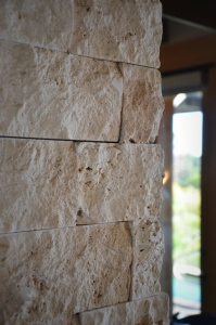Stone Accents in Room