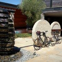 Property sculptures and bike rentals
