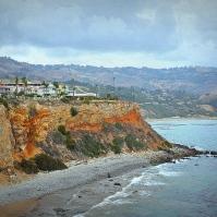 Stunning cliffsides