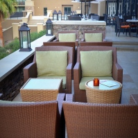 Outside Bar Seating