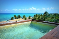 Panoramic View from Rooftop Pool