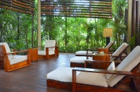 Spa Outdoor Relaxing Area